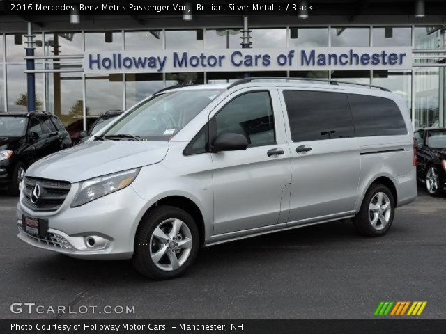 2016 Mercedes-Benz Metris Passenger Van in Brilliant Silver Metallic