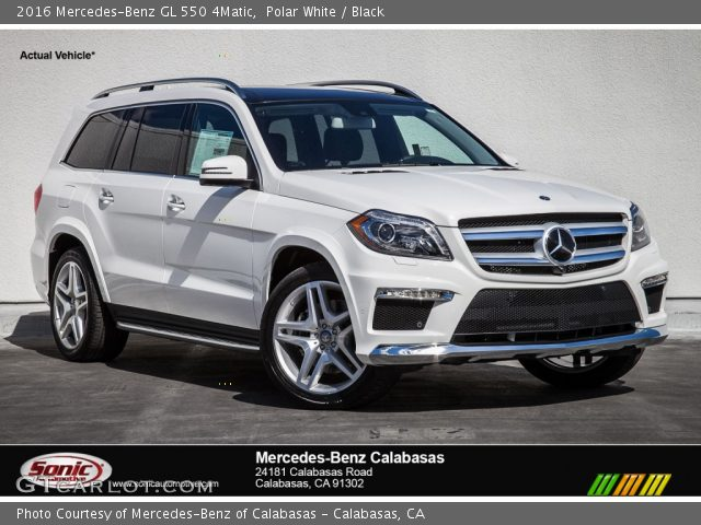 2016 Mercedes-Benz GL 550 4Matic in Polar White