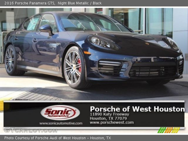 2016 Porsche Panamera GTS in Night Blue Metallic