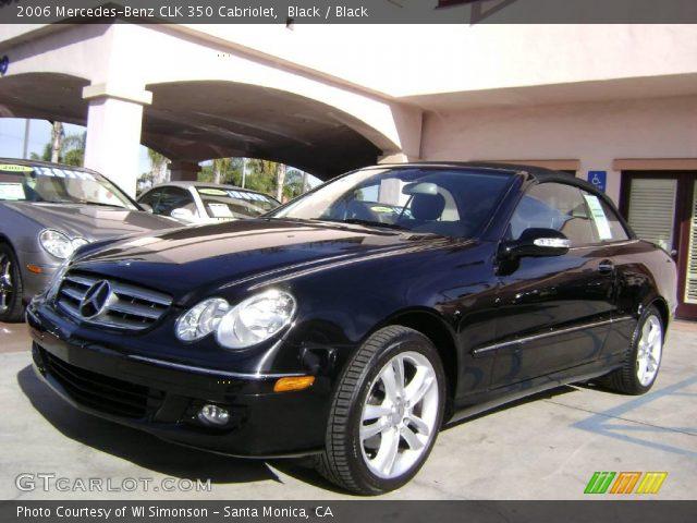 Black 2006 mercedes benz clk 350 cabriolet black for 2006 mercedes benz clk350 convertible