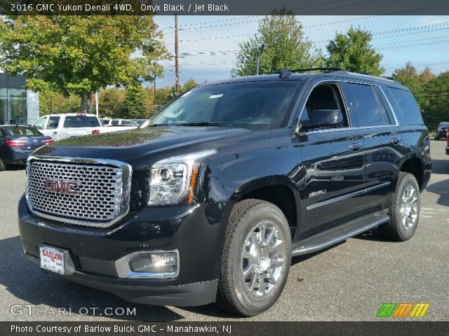 onyx black 2016 gmc yukon denali 4wd jet black. Black Bedroom Furniture Sets. Home Design Ideas