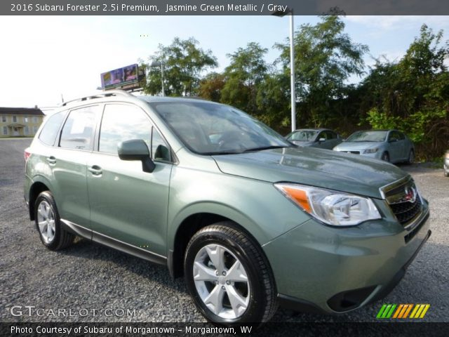 2016 Subaru Forester 2 5i Premium In Jasmine Green Metallic