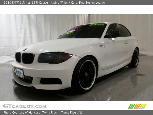 2010 BMW 1 Series 135i Coupe in Alpine White