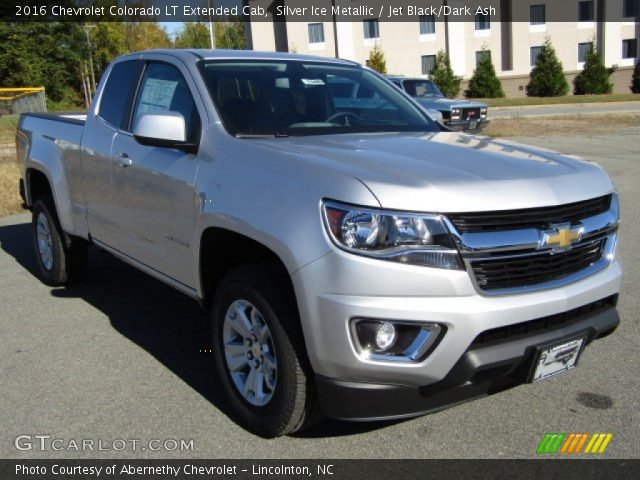silver ice metallic 2016 chevrolet colorado lt extended. Black Bedroom Furniture Sets. Home Design Ideas