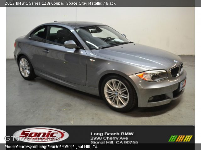 2013 BMW 1 Series 128i Coupe in Space Gray Metallic