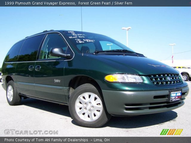 forest green pearl 1999 plymouth grand voyager expresso. Black Bedroom Furniture Sets. Home Design Ideas