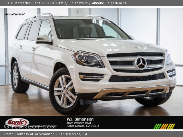 Polar white 2016 mercedes benz gl 450 4matic almond for 2016 mercedes benz gl550 4matic