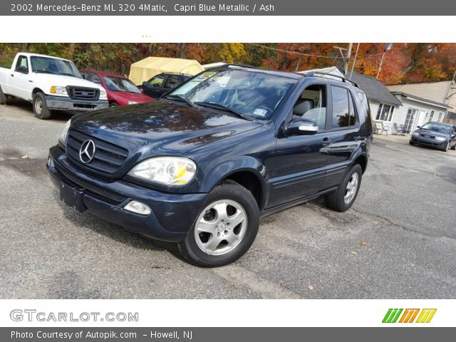 2002 Mercedes-Benz ML 320 4Matic in Capri Blue Metallic