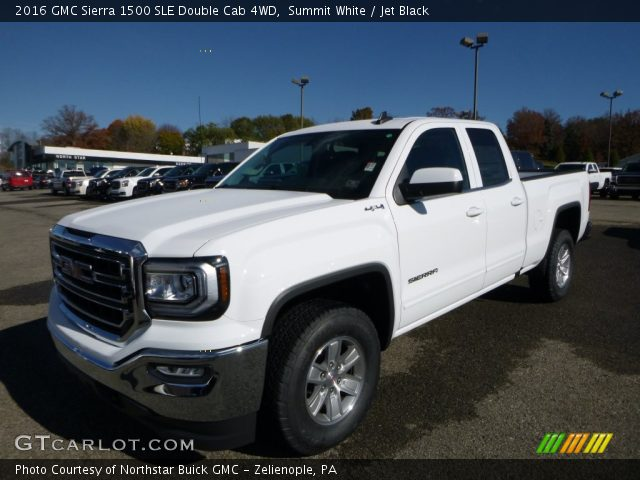 summit white 2016 gmc sierra 1500 sle double cab 4wd. Black Bedroom Furniture Sets. Home Design Ideas