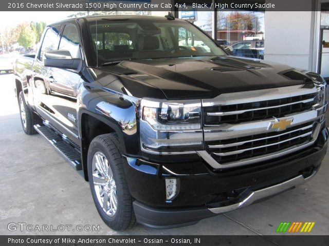 2016 Chevrolet Silverado 1500 High Country Crew Cab 4x4 in Black