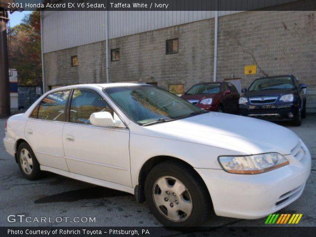 2001 Honda Accord EX V6 Sedan in Taffeta White