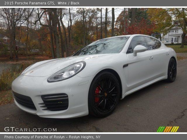 2015 Porsche Panamera GTS in White