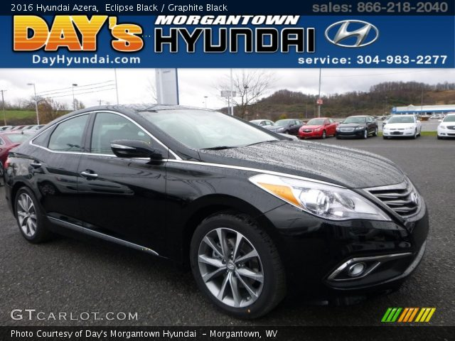 2016 Hyundai Azera  in Eclipse Black