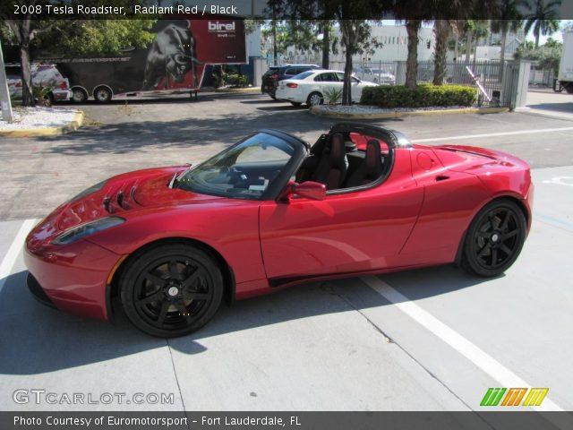 2008 Tesla Roadster  in Radiant Red