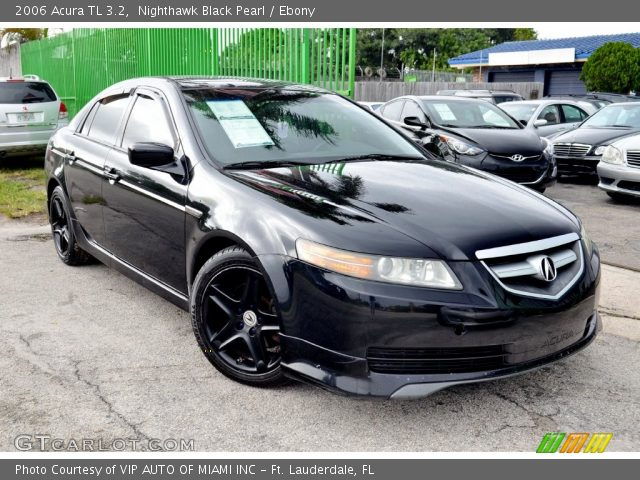 2006 Acura TL 3.2 In Nighthawk Black Pearl