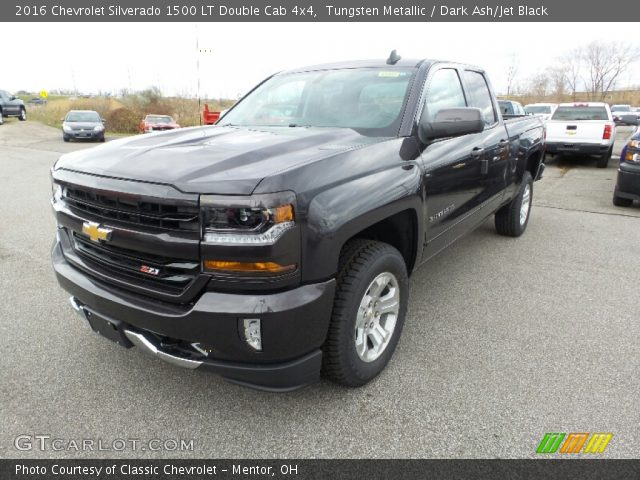 2016 Chevrolet Silverado 1500 LT Double Cab 4x4 in Tungsten Metallic