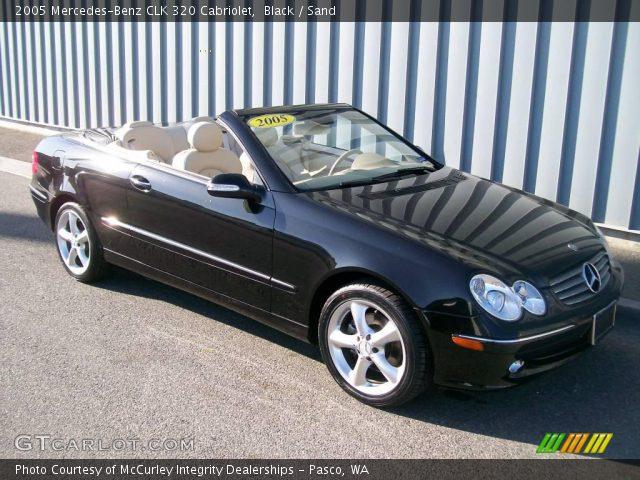 Black 2005 mercedes benz clk 320 cabriolet sand for 2005 mercedes benz clk 320