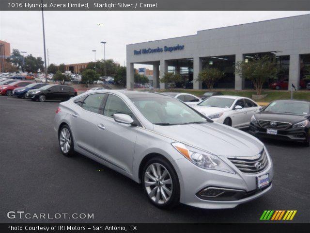 2016 Hyundai Azera Limited in Starlight Silver