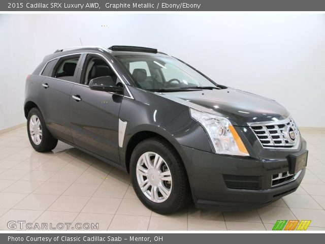 2015 Cadillac SRX Luxury AWD in Graphite Metallic