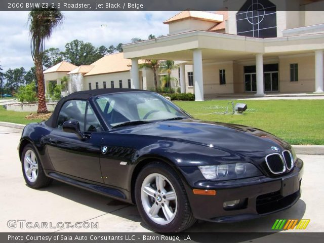 jet black 2000 bmw z3 2 3 roadster beige interior. Black Bedroom Furniture Sets. Home Design Ideas