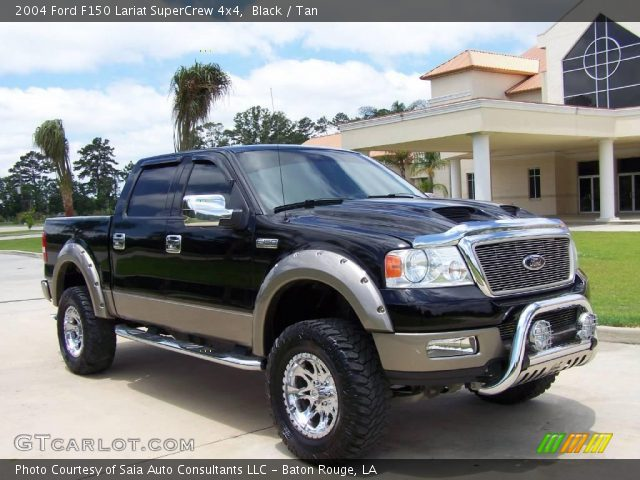 used 2004 ford f150 4x4 supercrew lariat. Black Bedroom Furniture Sets. Home Design Ideas