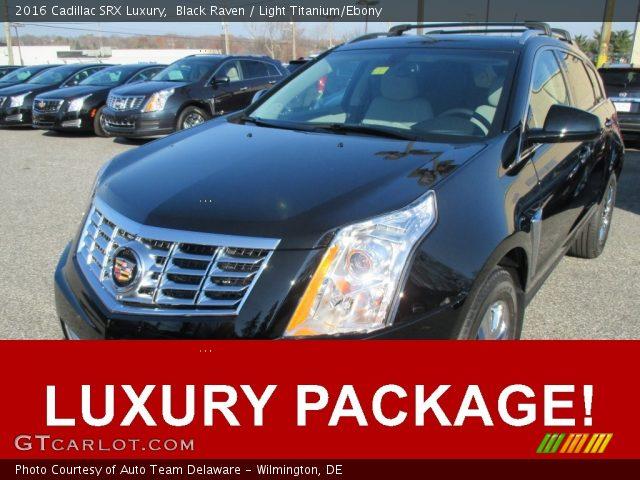 2016 Cadillac SRX Luxury in Black Raven