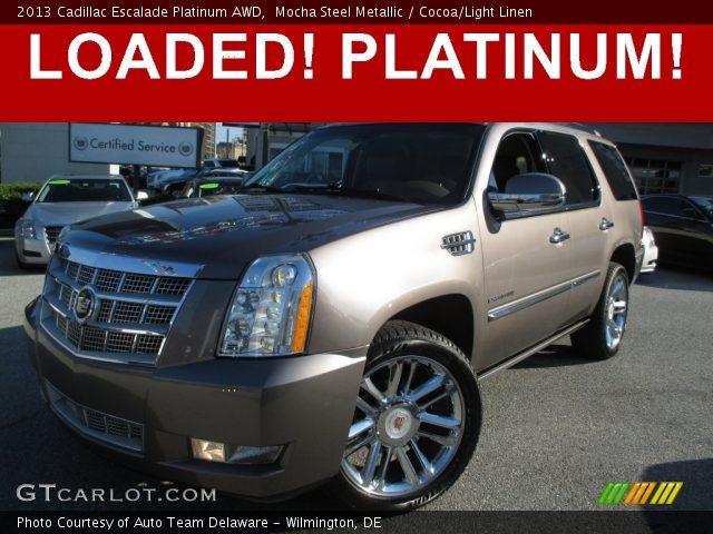 2013 Cadillac Escalade Platinum AWD in Mocha Steel Metallic