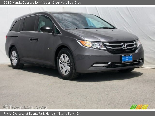 modern steel metallic 2016 honda odyssey lx gray. Black Bedroom Furniture Sets. Home Design Ideas