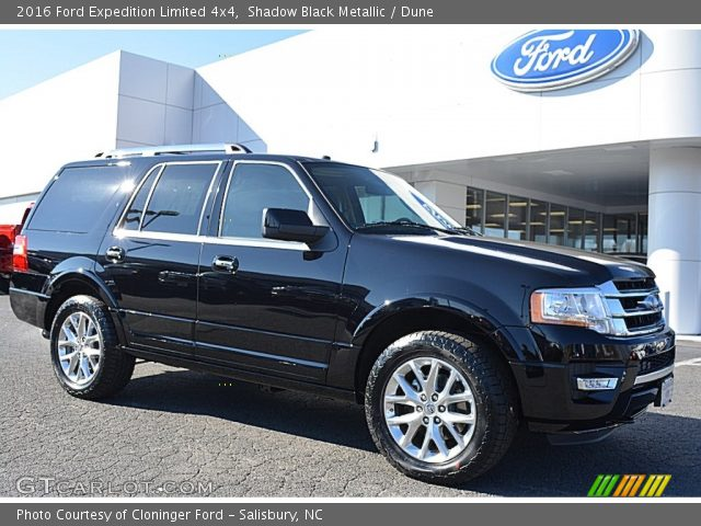 shadow black metallic 2016 ford expedition limited 4x4. Black Bedroom Furniture Sets. Home Design Ideas