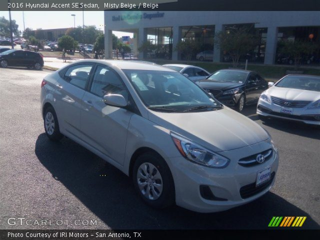 2016 Hyundai Accent SE Sedan in Misty Beige