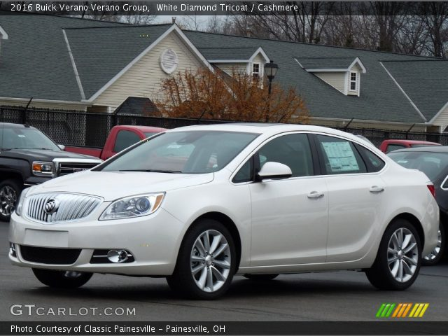 2016 Buick Verano Verano Group in White Diamond Tricoat