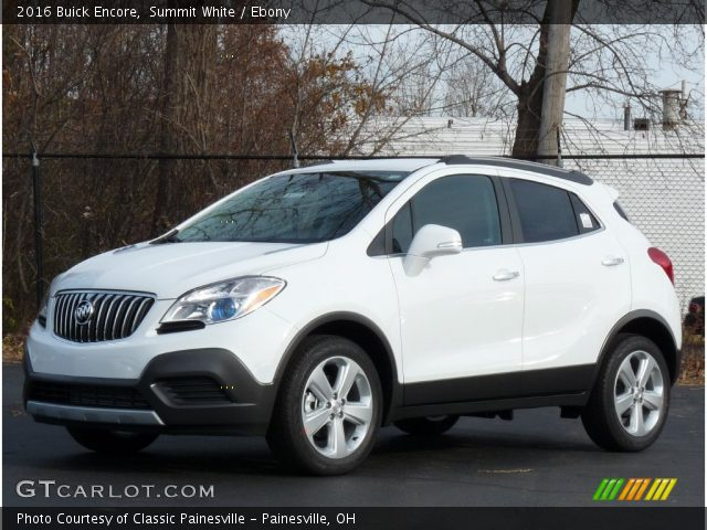 2016 Buick Encore  in Summit White