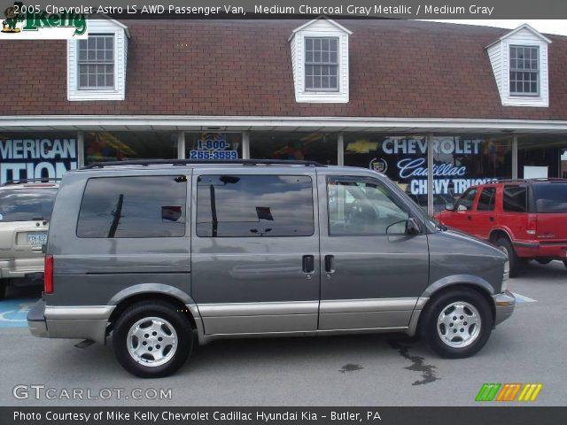 medium charcoal gray metallic 2005 chevrolet astro ls awd passenger van medium gray interior. Black Bedroom Furniture Sets. Home Design Ideas