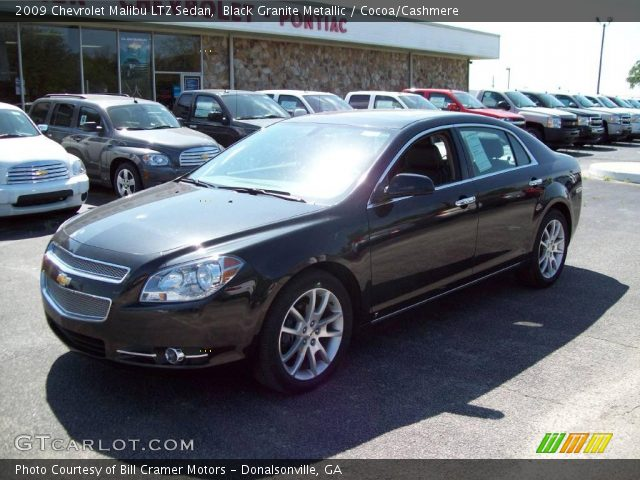 2009 Chevrolet Malibu Ltz Sedan In Black Granite Metallic