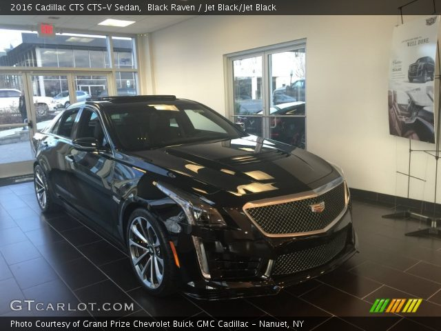 2016 Cadillac CTS CTS-V Sedan in Black Raven