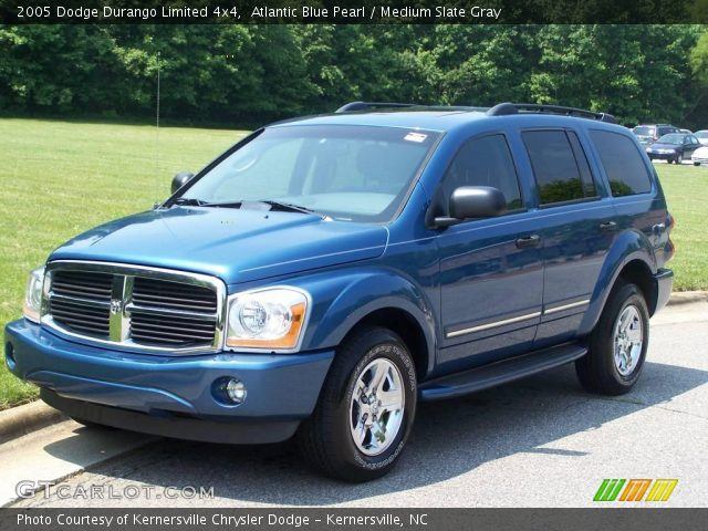 atlantic blue pearl 2005 dodge durango limited 4x4. Black Bedroom Furniture Sets. Home Design Ideas