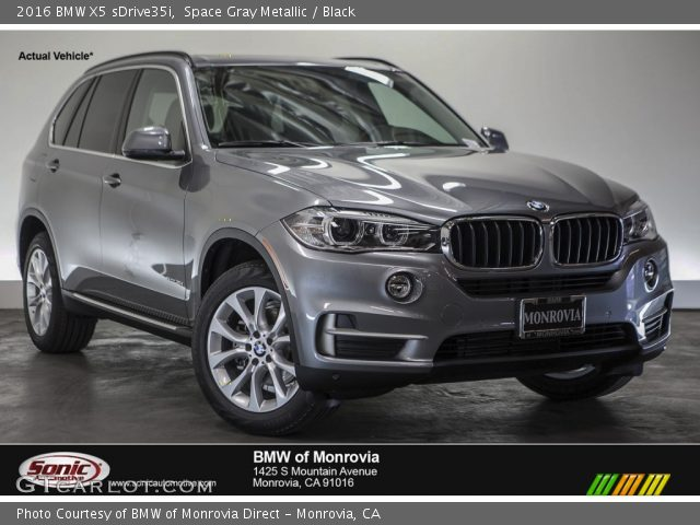 space gray metallic 2016 bmw x5 sdrive35i black. Black Bedroom Furniture Sets. Home Design Ideas