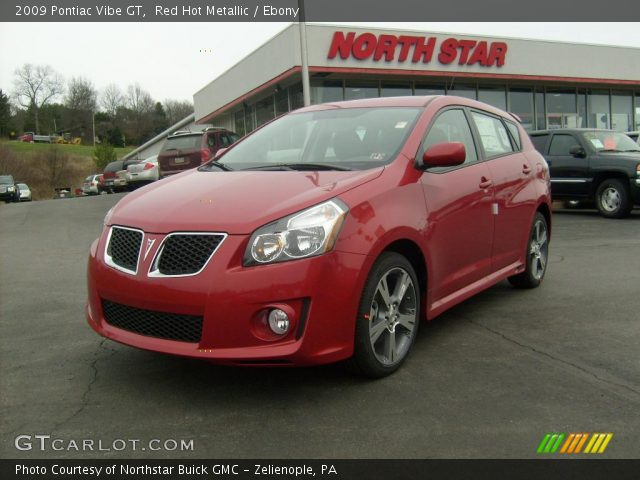 2009 Pontiac Vibe GT in Red Hot Metallic