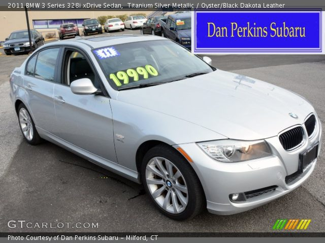 2011 BMW 3 Series 328i xDrive Sedan in Titanium Silver Metallic