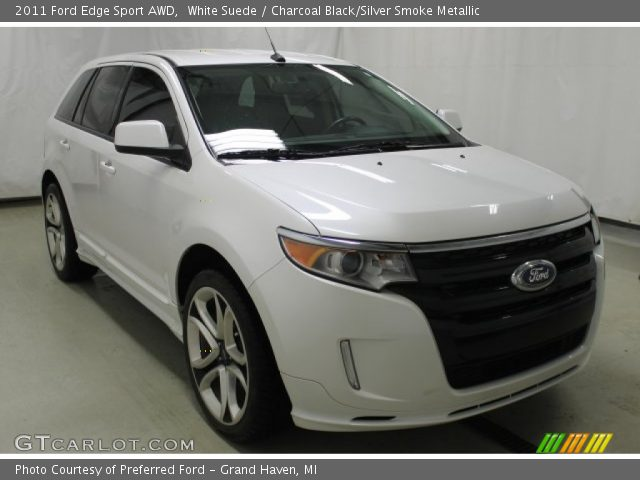 2011 Ford Edge Sport AWD in White Suede