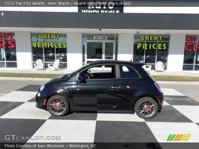 2013 Fiat 500 Abarth in Nero (Black)
