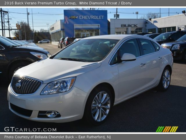 2016 Buick Verano Premium Turbo Group in White Diamond Tricoat