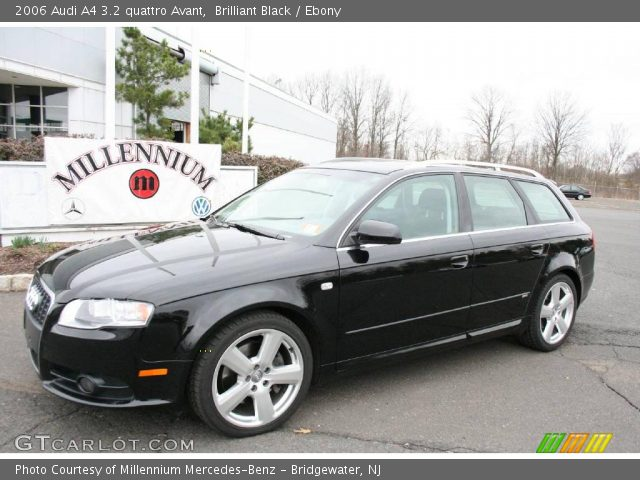 brilliant black 2006 audi a4 3 2 quattro avant ebony interior vehicle. Black Bedroom Furniture Sets. Home Design Ideas