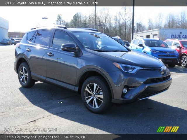 magnetic gray metallic 2016 toyota rav4 xle black interior vehicle archive. Black Bedroom Furniture Sets. Home Design Ideas