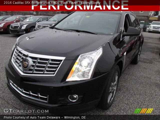 2016 Cadillac SRX Performance AWD in Black Raven