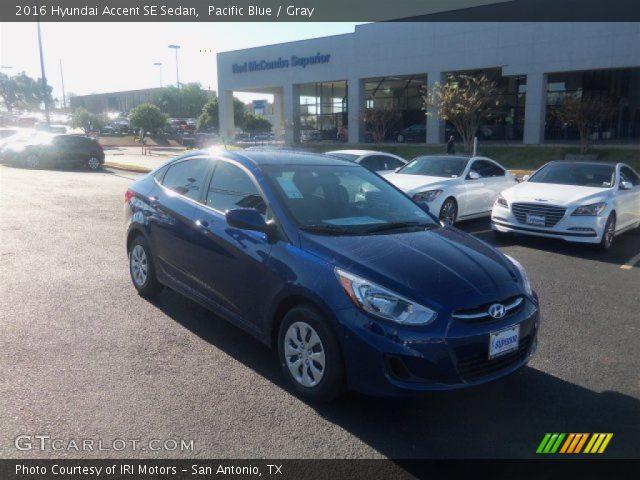 2016 Hyundai Accent SE Sedan in Pacific Blue