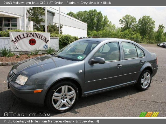 platinum grey metallic  volkswagen jetta gls  sedan black interior gtcarlotcom