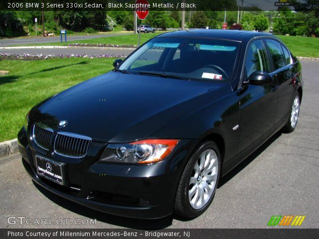 black sapphire metallic 2006 bmw 3 series 330xi sedan black interior. Black Bedroom Furniture Sets. Home Design Ideas