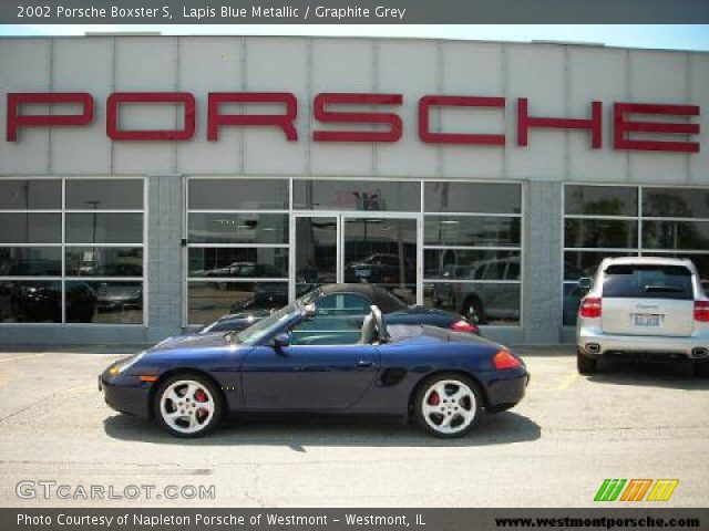 2002 Porsche Boxster S in Lapis Blue Metallic