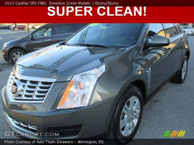 2013 Cadillac SRX FWD in Evolution Green Metallic